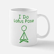 Green Lotus Pose Mug