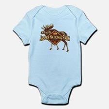 Jasper Natl Park Moose Infant Bodysuit