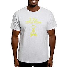 Yellow Lotus Pose T-Shirt