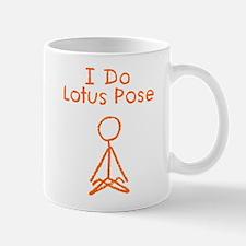 Orange Lotus Pose Mug