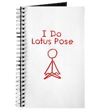 Red Lotus Pose Journal