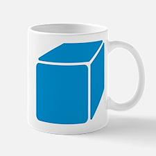 Blue cube Mug