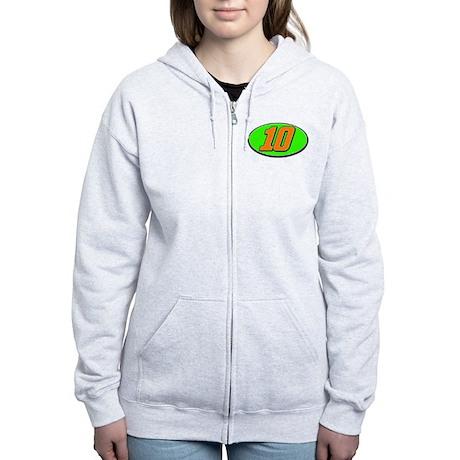 DP10circle Women's Zip Hoodie