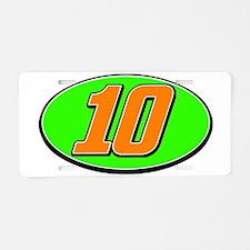 DP10circle Aluminum License Plate