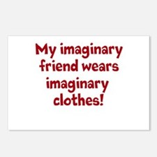 imaginary friend & imaginary Postcards (Package of