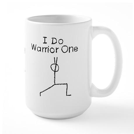 Black Warrior One Large Mug