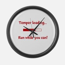 Temper loading... Large Wall Clock