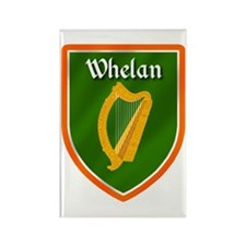 Whelan Family Crest Rectangle Magnet