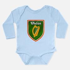 Whelan Family Crest Long Sleeve Infant Bodysuit