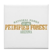 Petrified Forest Arizona Tile Coaster