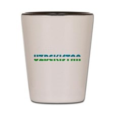 Uzbekistan Shot Glass