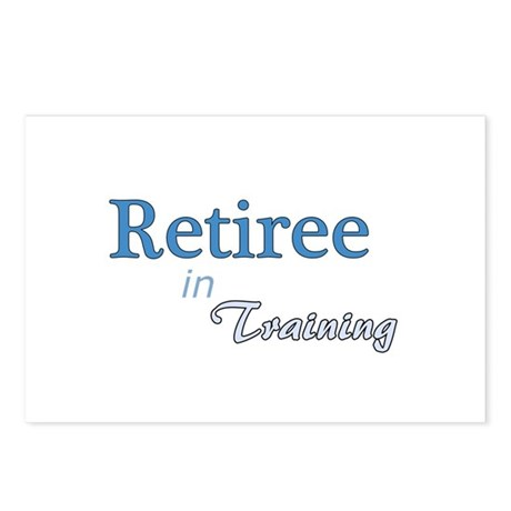 Retiree in Training Postcards (Package of 8)