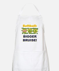 Softball = Not Soft Apron