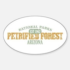 Petrified Forest Arizona Sticker (Oval)