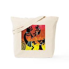 Dance of the Kokopelli Tote Bag