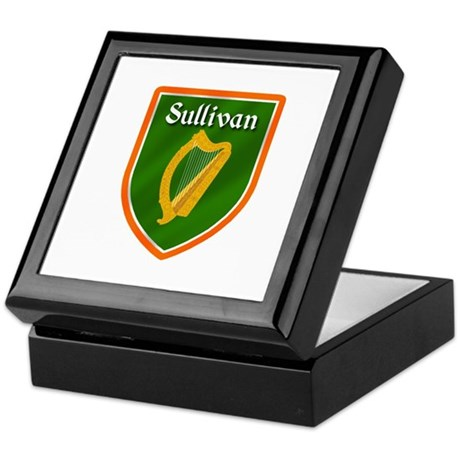 Sullivan Family Crest Keepsake Box