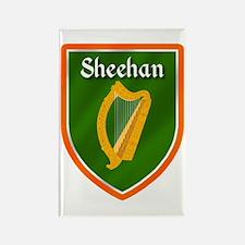 Sheehan Family Crest Rectangle Magnet