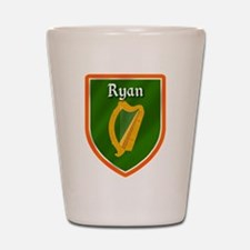 Ryan Family Crest Shot Glass