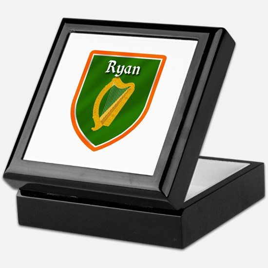 Ryan Family Crest Keepsake Box