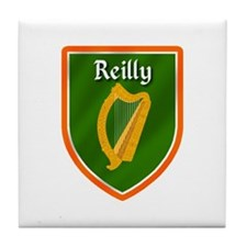 Reilly Family Crest Tile Coaster