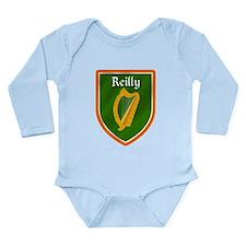 Reilly Family Crest Long Sleeve Infant Bodysuit