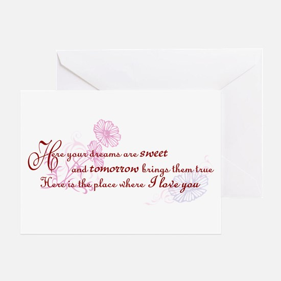 Rue's Song Greeting Card