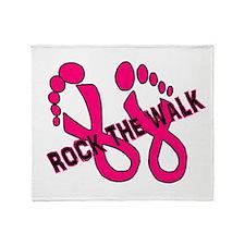 Rock the Walk Throw Blanket