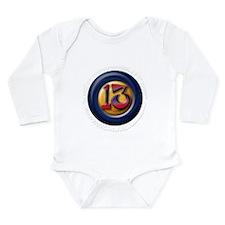 13 Long Sleeve Infant Bodysuit