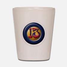 13 Shot Glass