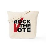Rock The Vote Tote Bag