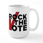 Rock the Vote Large Mug