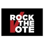 Rock the Vote Large Poster
