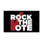 Rock the Vote Car Magnet 20 x 12