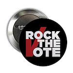 """Rock The Vote 2.25"""" Button"""
