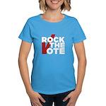 Rock the Vote Women's Dark T-Shirt