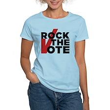 Rock the Vote Women's Light T-Shirt