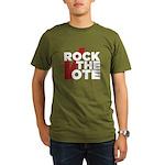 Rock the Vote Organic Men's T-Shirt (dark)