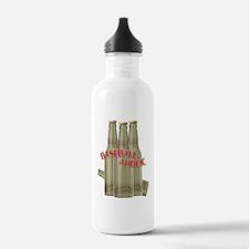 Baseballaholic Water Bottle