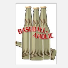 Baseballaholic Postcards (Package of 8)