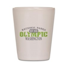 Olympic National Park WA Shot Glass