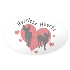 Decal - Hairless Hearts