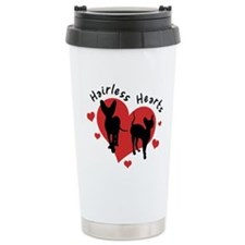 Travel Mug-Red&Black-Hairless