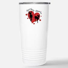 Travel Mug-Red&Black-Hairless