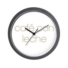 Cute Leche! Wall Clock