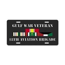 18th Aviation Brigade Gulf War Veteran Aluminum Li