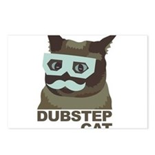 Dubstep Cat Postcards (Package of 8)