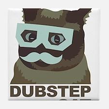 Dubstep Cat Tile Coaster