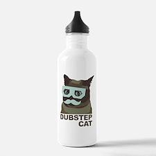 Dubstep Cat Water Bottle