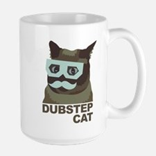 Dubstep Cat Mug