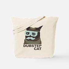 Dubstep Cat Tote Bag